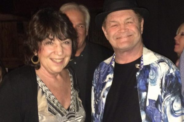 Micky Dolenz of the Monkees talks with renowned Psychic and Medium Dr. Linda Salvin at the Agoura in LA